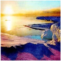 En algunos lugares, como el Polo Norte, el sol continúa brillando a la media noche del 21 de junio