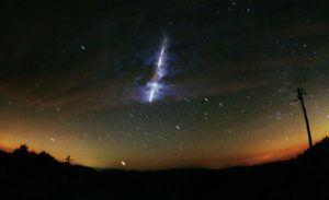 leonides meteoritos
