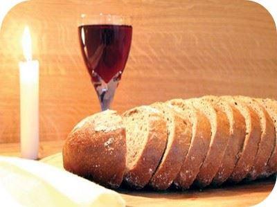 vino y pan