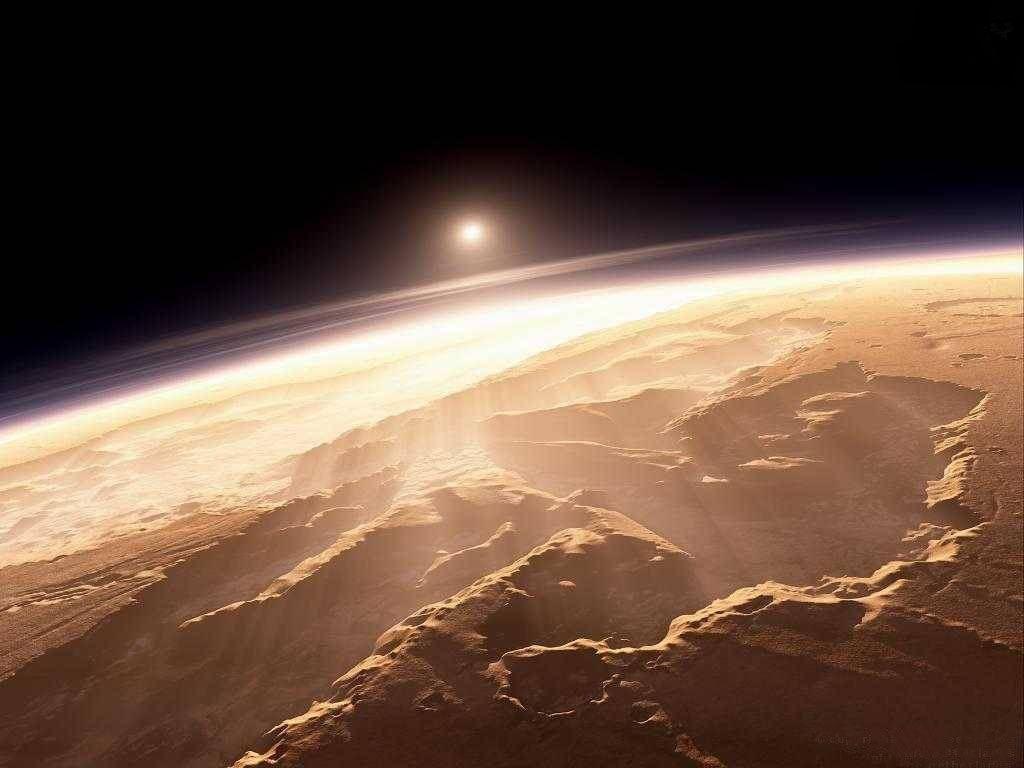 cosas raras que pasan en Marte Marte