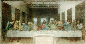 Ultima cena por Michelangello 300x153 Ritual del Jueves Santo