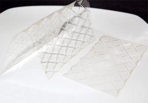 hojas gelatina 300x209 Gelatina: proteína en estado puro.