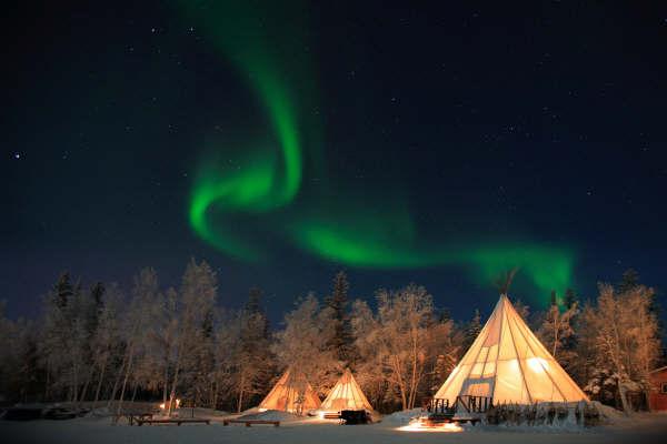 Auroras Boreales en Canada