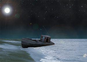 Barco noche 10