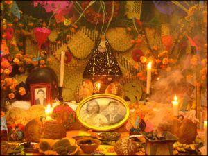 Dia de los Muertos 300x225 Honrando a los Ancestros.