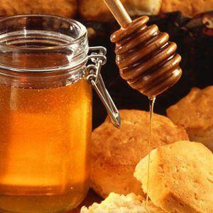 tarro de miel y dosificador 300x300 Propiedades de la Miel