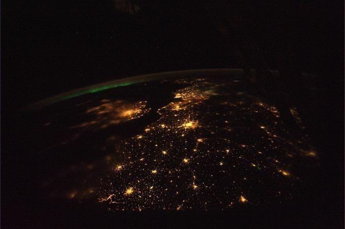 Desde el satelite