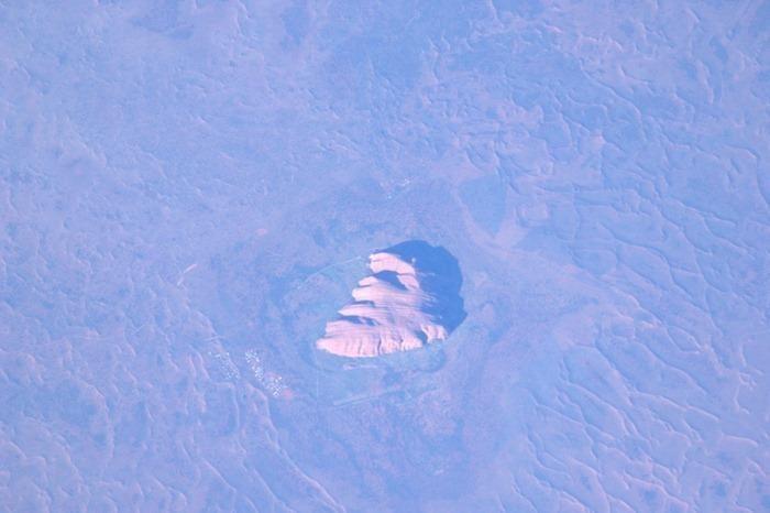 Imagen de la tierra desde el espacio