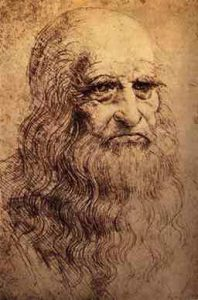 Possible Self Portrait of Leonardo da Vinci 198x300 Sentido común