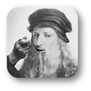 Leonardo Da Vinci - Cocinando