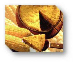 Torta de maiz - cocinando