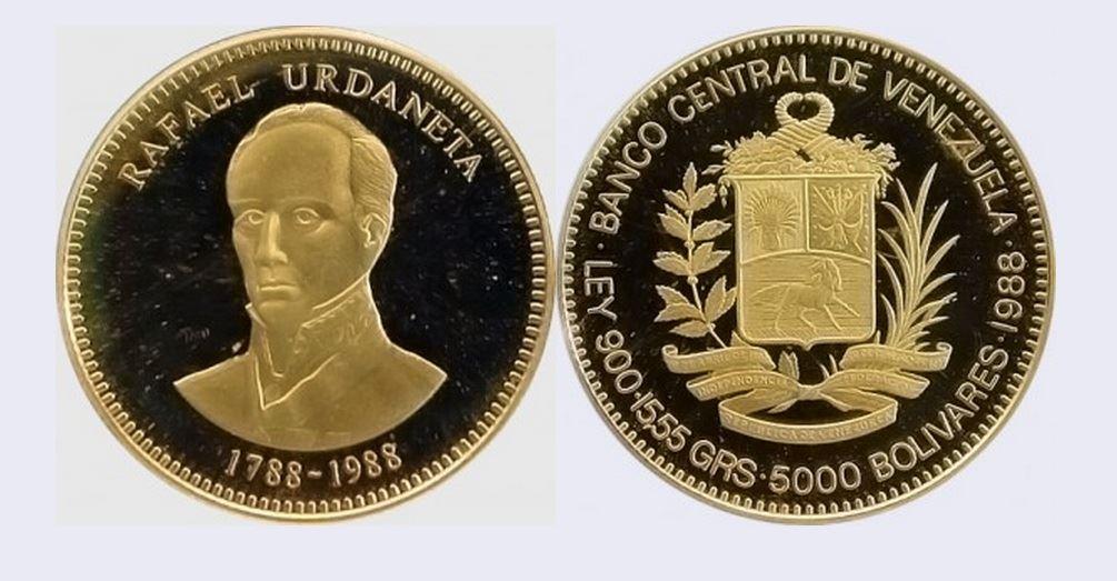Urdaneta Moneda