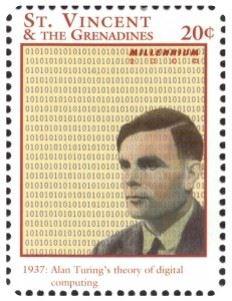 Alan Turing postal