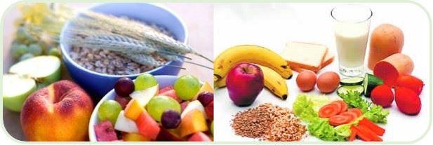 alimentos sanos collage