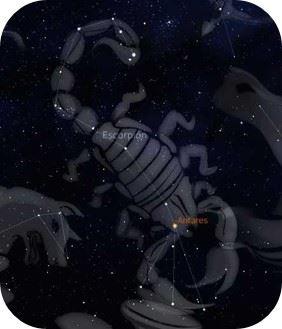 Escorpio en el cielo