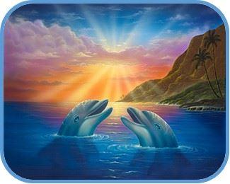 delfines felices