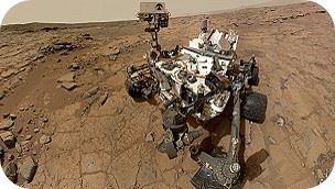 El Curiosity aterrizó en Marte en agosto de 2012.