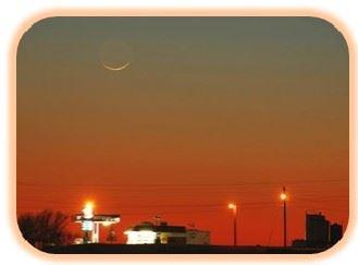 Luena nueva amanece