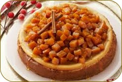torta de calabaza con queso