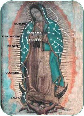 Constelaciones- Virgen de Guadalupe