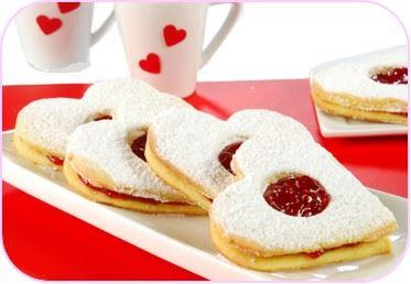 galletas en forma de corazon