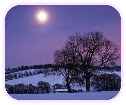 luna llena romantica